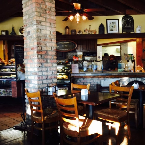 Photo taken at La Madeleine Country French Café by Sandra M. on 2/5/2015