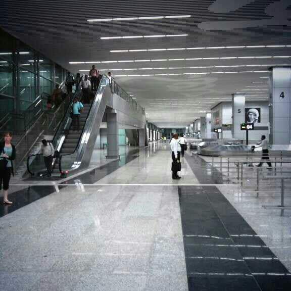 Photo taken at Netaji Subhash Chandra Bose International Airport (CCU) by Sharad M. on 6/5/2013
