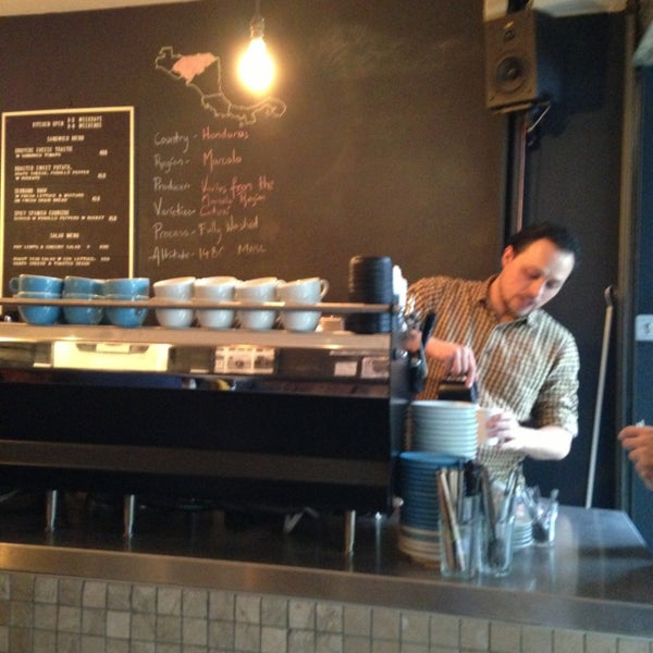 Photo taken at Flat White by H C. on 1/29/2013