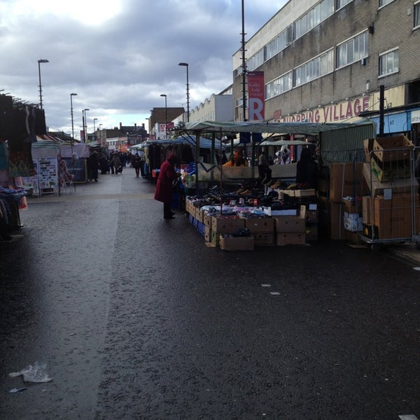 Photo taken at Ridley Road Market by Jana R. on 2/14/2013