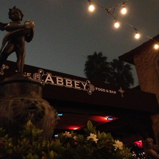 Photo taken at The Abbey Food & Bar by Manuel H. on 11/24/2012