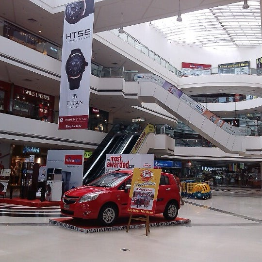 Photo taken at Kumar Pacific Mall by rohit p. on 2/24/2013