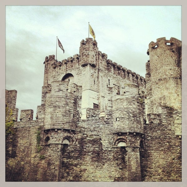 Photo taken at Gravensteen / Castle of the Counts by JJay043 on 3/15/2013