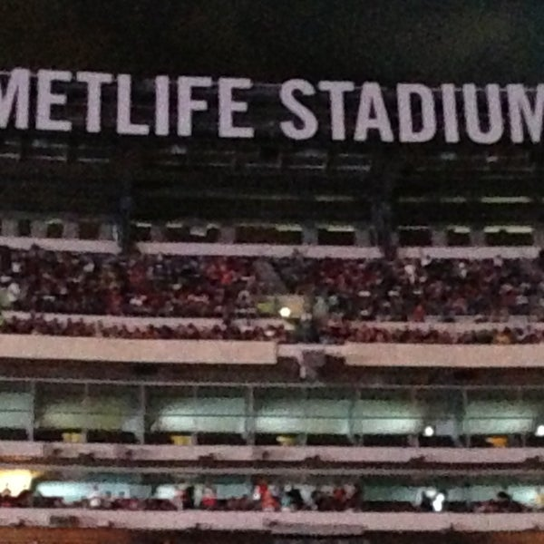 Photo taken at MetLife Stadium by Vikki on 6/3/2013