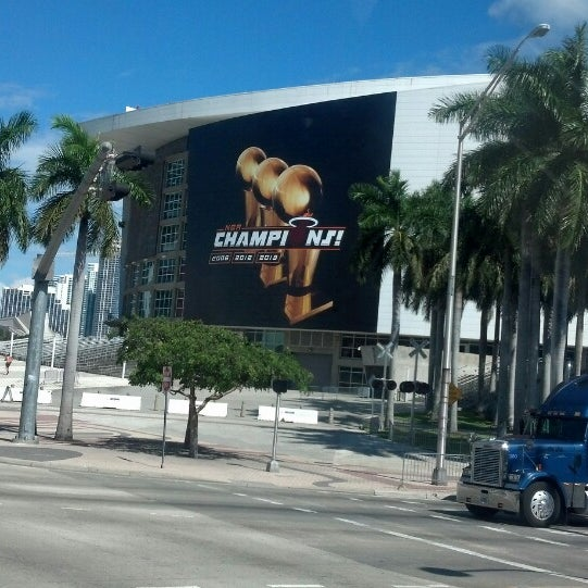Photo taken at American Airlines Arena by Danny M. on 10/21/2013