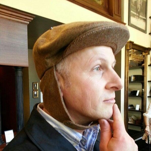 Photo taken at Goorin Bros. Hat Shop by Scott H. on 1/18/2013