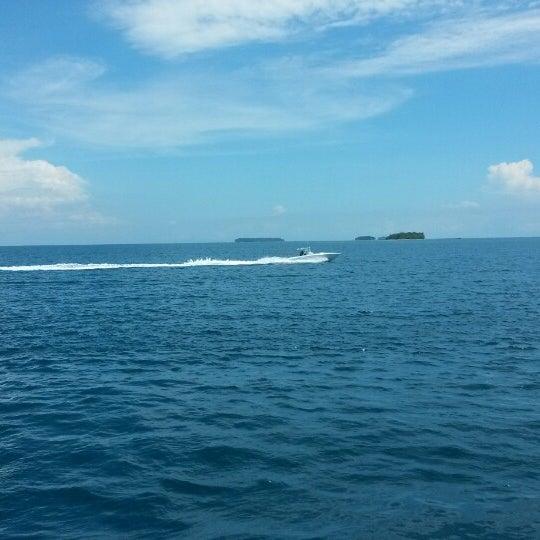 Photo taken at Pulau Pramuka by Army P. on 4/19/2014