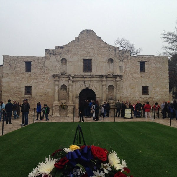 Photo taken at The Alamo by Martha H. on 3/9/2014