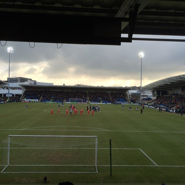 Photo taken at The Proact Stadium by Andrew B. on 2/14/2015