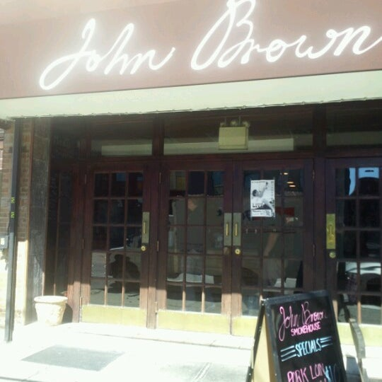 Photo taken at John Brown Smokehouse by Sharon C. on 9/23/2012