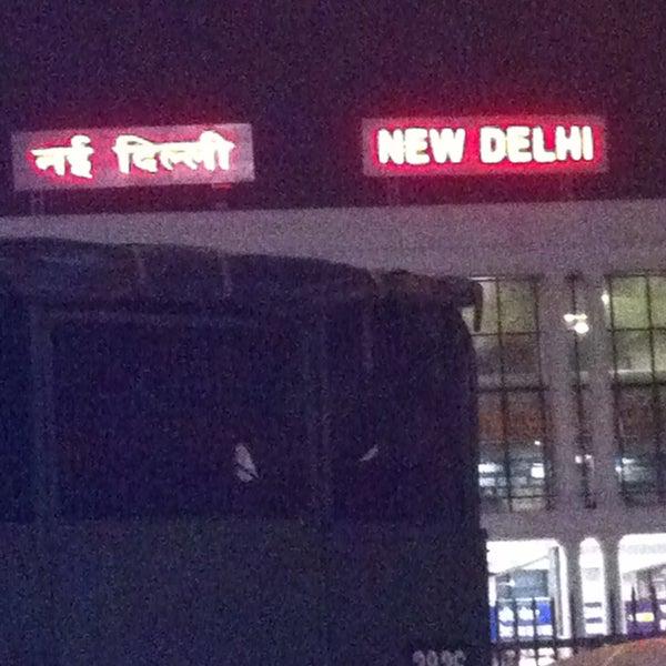 Photo taken at New Delhi Railway Station (NDLS) by Vivek S. on 4/27/2013