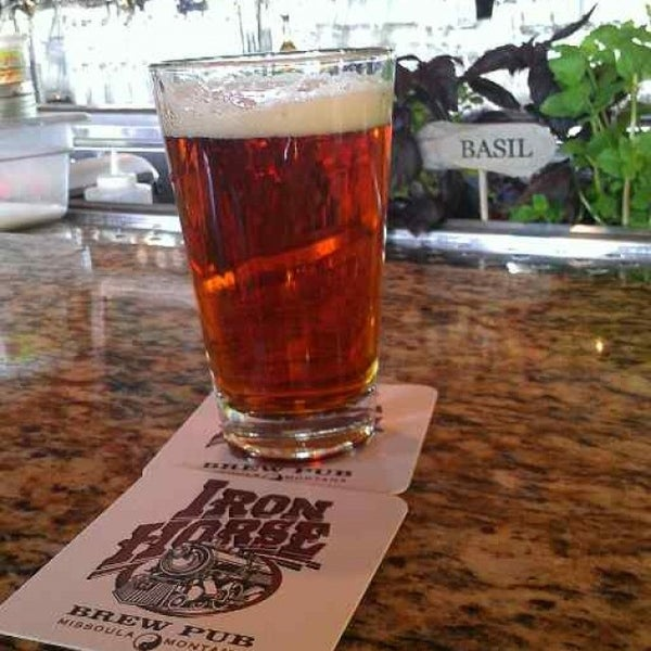 Photo taken at Iron Horse Brew Pub by Cy B. on 5/25/2013