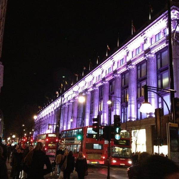 Photo taken at Oxford Street by Daneli E. on 1/26/2013