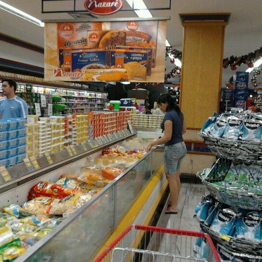 Photo taken at Supermercados Nazaré by Camilo Rocha on 11/2/2012