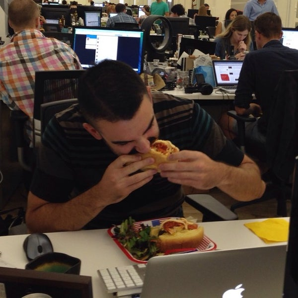Photo taken at Thrillist HQ by Mike B. on 7/23/2014