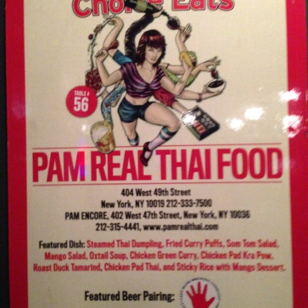 Photo taken at Pam Real Thai by Cheryl M. on 10/30/2014