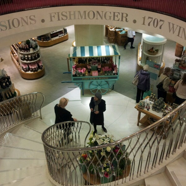 Photo taken at Fortnum & Mason by Frederic B. on 4/16/2013