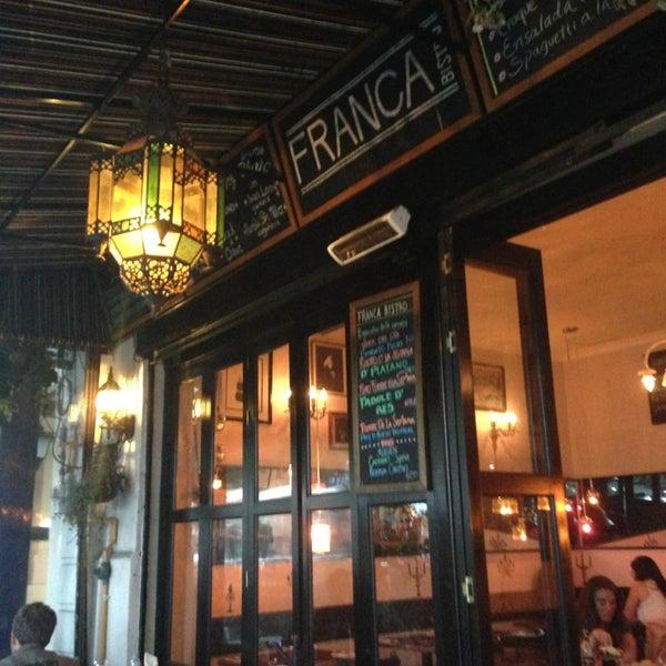 Franca bistro restaurante franc s en ciudad de m xico for Restaurante frances
