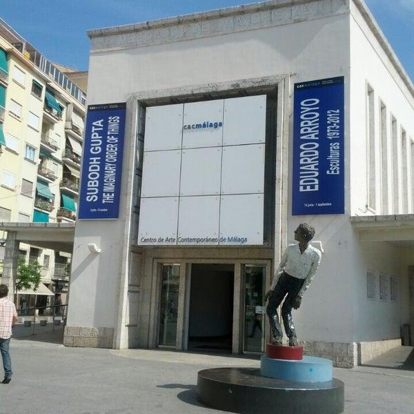 Foto tomada en CAC Málaga - Centro de Arte Contemporáneo por Francisco R. el 7/3/2013