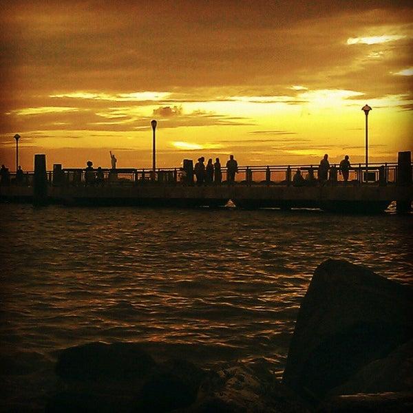 Photo taken at Louis Valentino, Jr. Park & Pier by Darius A. on 6/24/2013