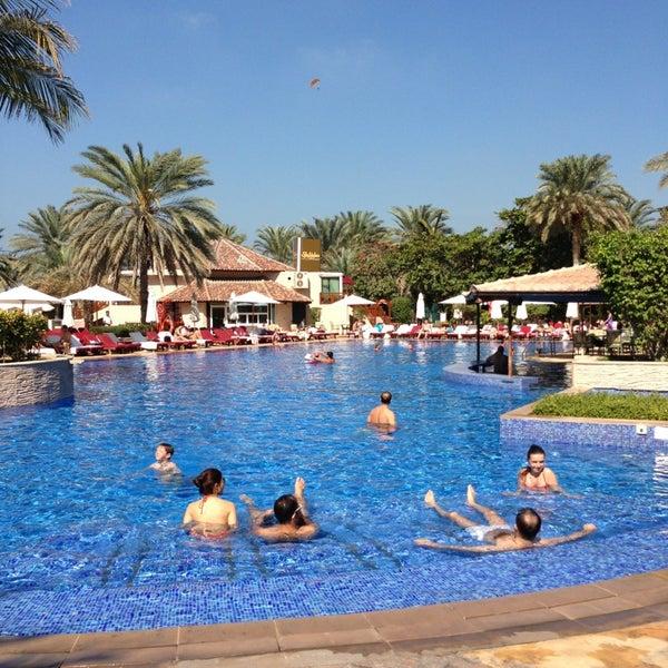 Photo taken at Habtoor Grand Beach Resort & Spa by John O. on 2/9/2013