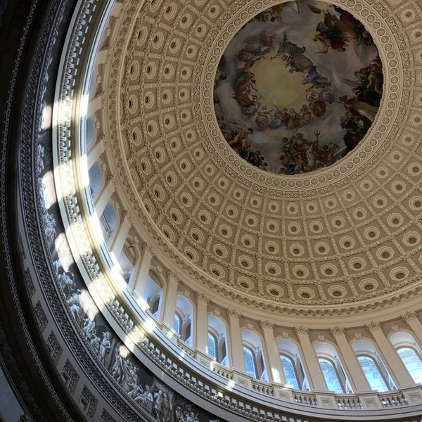 Photo taken at Rotunda of the U.S. Capitol by Dan S. on 12/3/2016