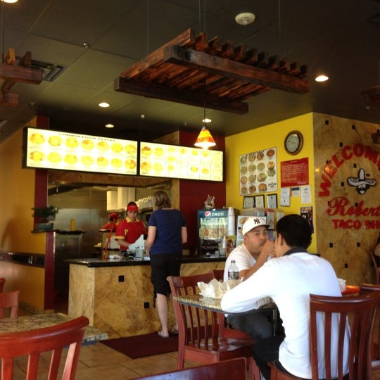 Photo taken at Roberto's Taco Shop by Robert S. on 10/17/2012