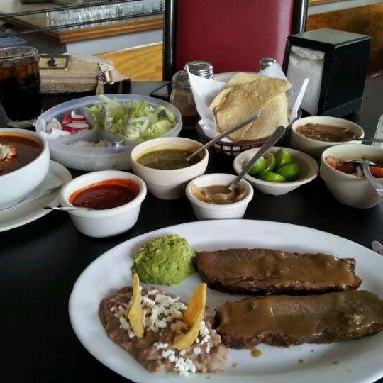 Photo taken at Pozole y Tacos Regios by Marcela F. on 7/22/2012