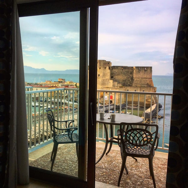 We had lovely double room with absolutely amazing sea view! The design of the room was also nice, comfortable bed and pillows. Breakfast was perfect, variety of food and delicious fruits and pastries.