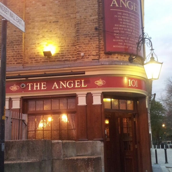 Photo taken at The Angel by Pietro D. on 5/4/2013