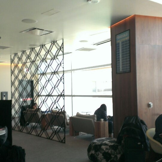 Photo taken at The Centurion Lounge by American Express by Pat B. on 10/24/2013