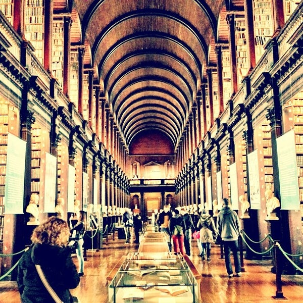 Trinity College Library Book of Kells Trinity College Old Library