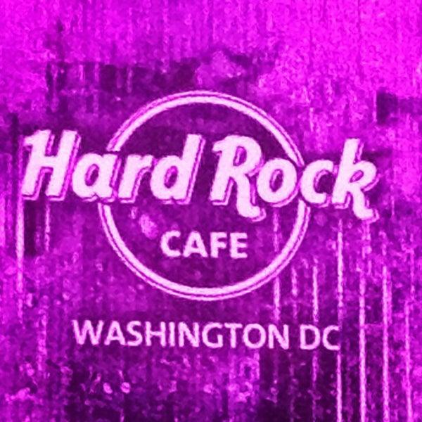 Photo taken at Hard Rock Cafe Washington DC by Ana C. on 12/11/2012
