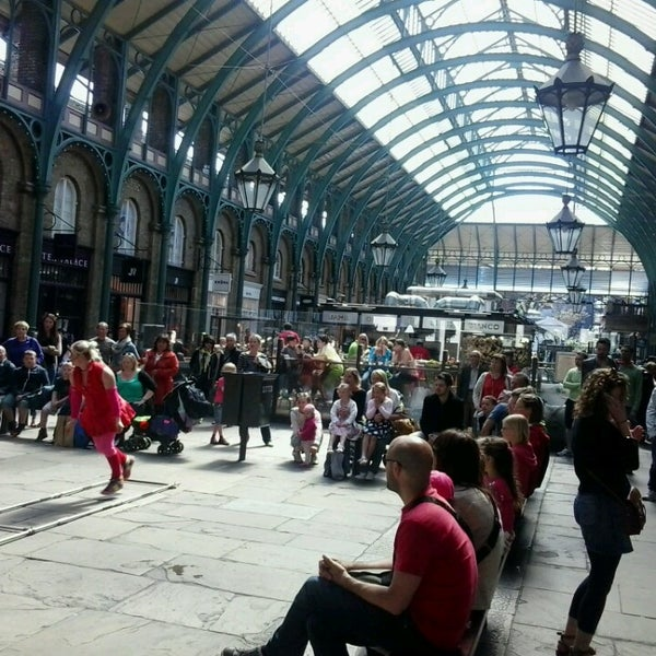 Photo taken at Covent Garden Market by Miss P. on 5/27/2013