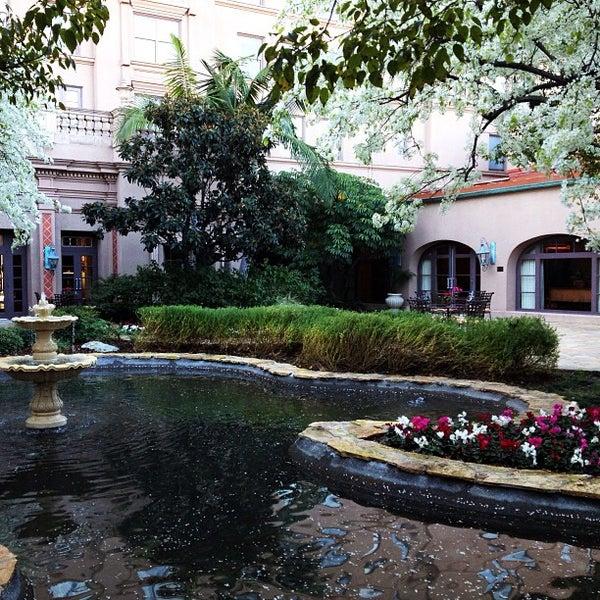 Photo taken at Langham Huntington Hotel by Tara S. on 2/14/2013
