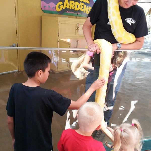 Photo taken at Reptile Gardens by Gary B. on 6/29/2014