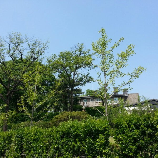 Photo taken at 연세대학교 새천년관 (Yonsei University, New Millennium Hall) by Joung-yun K. on 5/9/2014