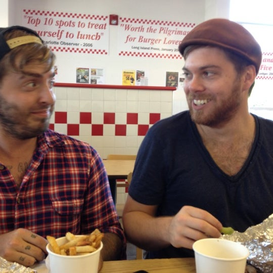 Photo taken at Five Guys by Sarah H. on 11/24/2012