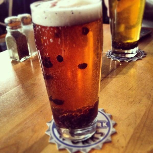 Photo taken at Boston Beer Works by Lauren L. on 3/22/2013
