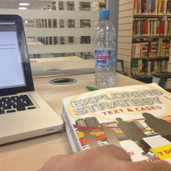 Photo taken at Northumbria University Library by Kamo K. on 1/23/2013