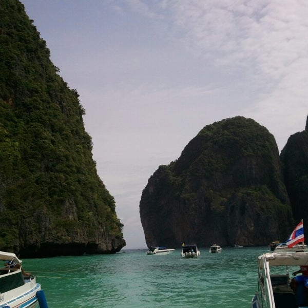Photo taken at Phi Phi Island by Mohammad R. on 7/6/2013