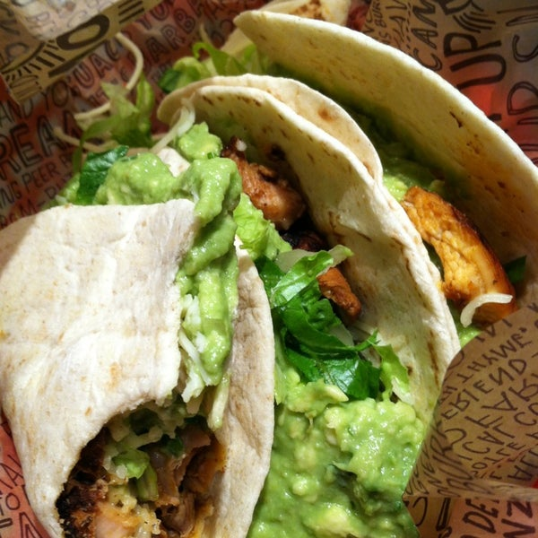 Photo taken at Chipotle Mexican Grill by Melanie H. on 1/3/2013