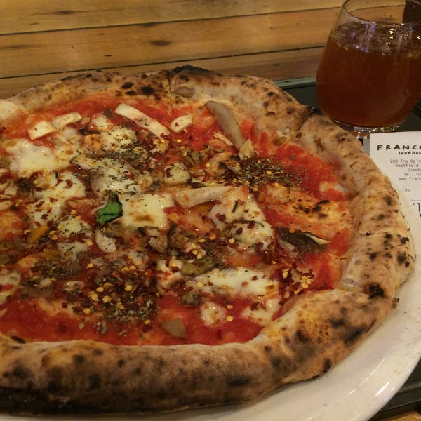 Photo taken at Franco Manca by Mark J. on 12/21/2015