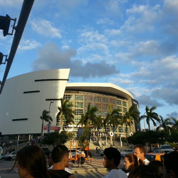 Photo taken at American Airlines Arena by Israel O. on 5/15/2013