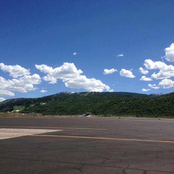 Photo taken at Aspen/Pitkin County Airport (ASE) by Alexis O. on 6/27/2013