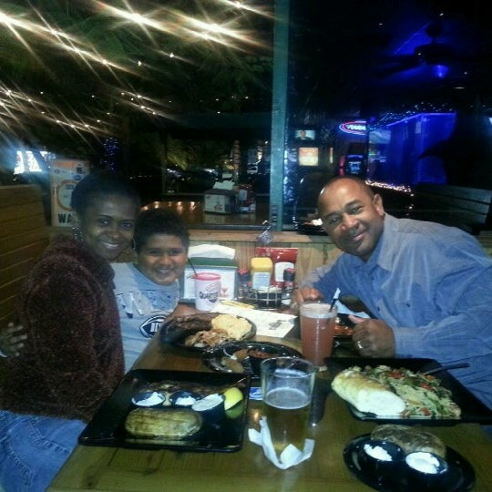 Photo taken at Quarterdeck Restaurant by Sonja B. on 12/24/2012