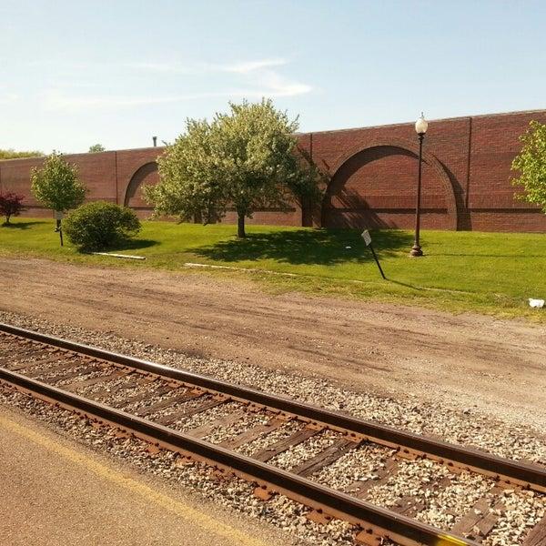 Photo taken at Kalamazoo Transportation Center - Amtrak (KAL) by Barb C. on 5/16/2013