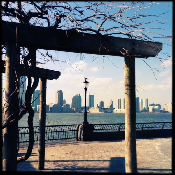 Photo taken at Battery Park City Esplanade by Susan B. on 2/15/2013