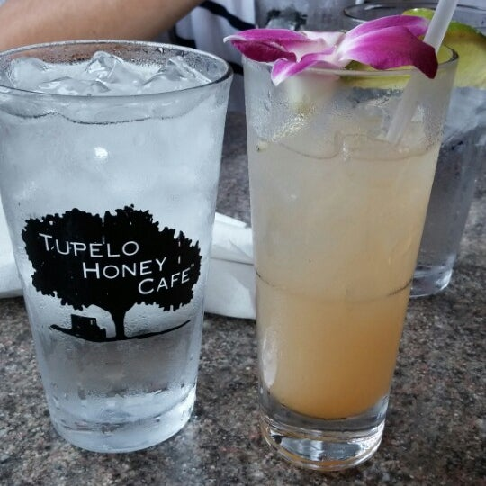 Photo taken at Tupelo Honey Cafe by Pam S. on 7/9/2014