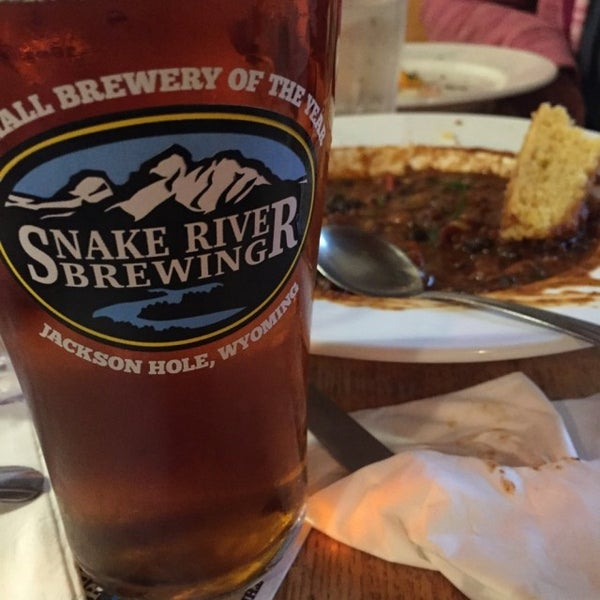 Photo taken at Snake River Brewery & Restaurant by John C. on 7/18/2015